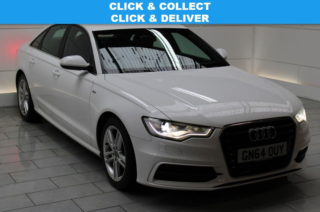 USED 2014 64 AUDI A6 2.0 TDI ultra S line S Tronic [SAT NAV][LEATHER]
