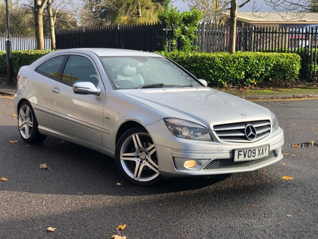 2009 09 MERCEDES-BENZ CLC CLASS 1.6 CLC 160 BLUEEFFICIENCY SPORT 3d 129 BHP