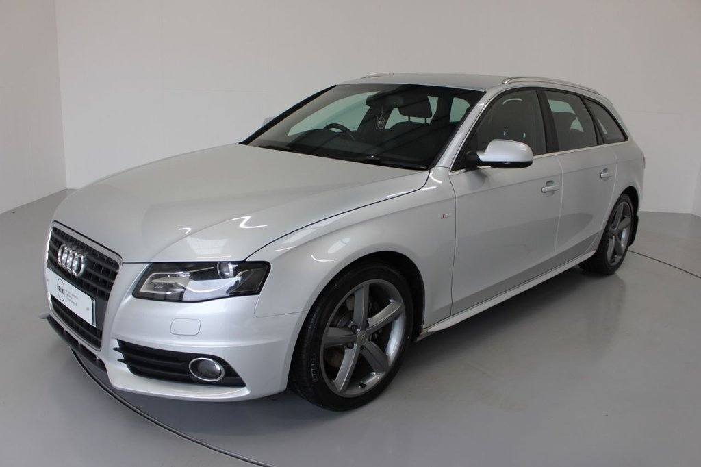 USED 2010 10 AUDI A4 2.0 AVANT TDI S LINE SPECIAL EDITION 5d-HALF LEATHER-ALLOY WHEELS-CLIMATE CONTROL-TIMING BELT CHANGED, 6 SPEED MANUAL-DECEMBER 2021 MOT