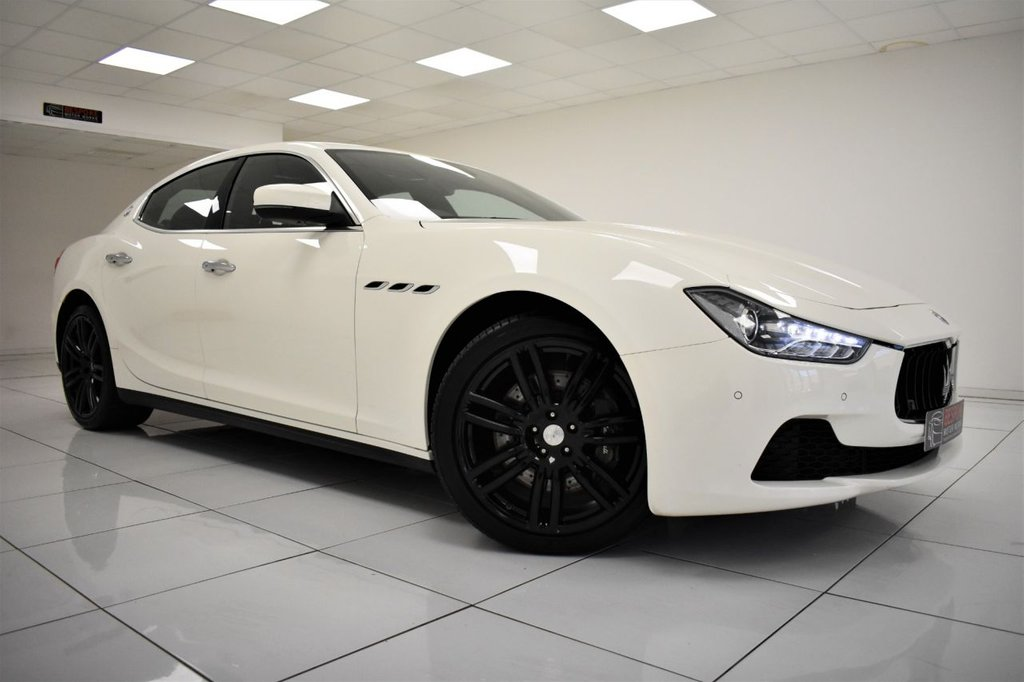 USED 2016 66 MASERATI GHIBLI 3.0D V6 4 DOOR