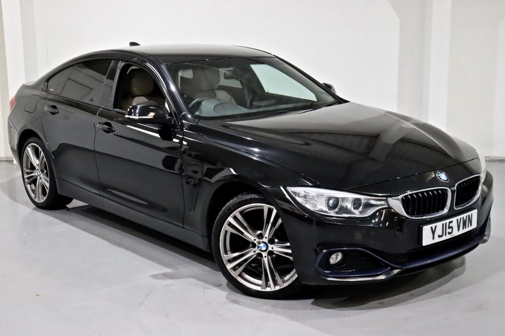 USED 2015 15 BMW 4 SERIES 2.0 420D XDRIVE SPORT GRAN COUPE 4d 181 BHP