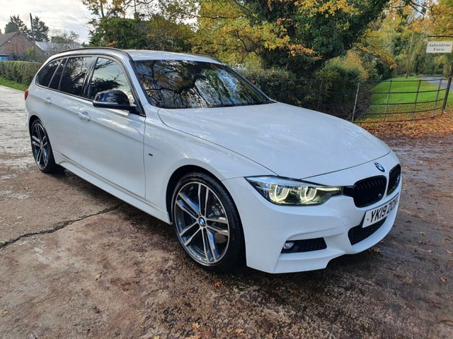 2019 19 BMW 3 SERIES 2.0 320I M SPORT SHADOW EDITION TOURING 5d 181 BHP