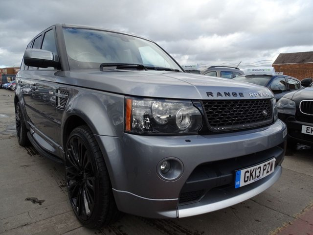 USED 2013 13 LAND ROVER RANGE ROVER SPORT 3.0 SDV6 AUTOBIOGRAPHY SPORT 5d 255 BHP