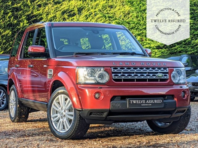 USED 2010 10 LAND ROVER DISCOVERY 3.0 4 TDV6 HSE 5d AUTO 245 BHP (7 SEATS & SAT NAV)