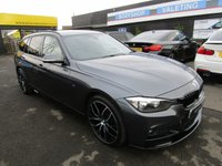 USED 2014 14 BMW 3 SERIES 2.0 320D XDRIVE M SPORT TOURING 5d 181 BHP PRO SAT/NAV, HEATED SEATS, FULL LEATHER, TINTED GLASS..