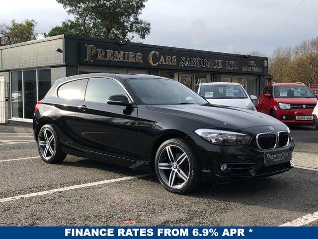 USED 2017 67 BMW 1 SERIES 2.0 118D SPORT 3d 147 BHP