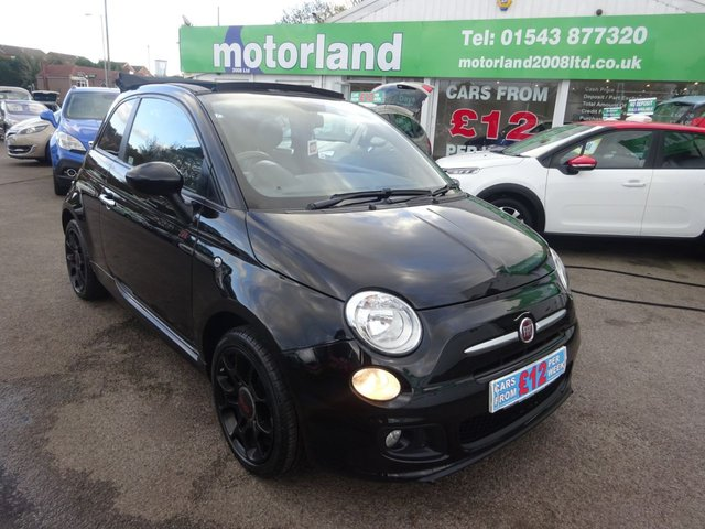 USED 2015 65 FIAT 500 1.2 C S 2d 69 BHP ** TEST DRIVE TODAY **JUST ARRIVED.