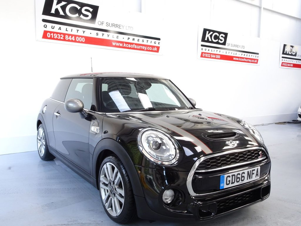 USED 2016 66 MINI HATCH COOPER 2.0 COOPER SD SEVEN 3d 168 BHP HUGE SPEC - SAT NAV -PAN ROOF