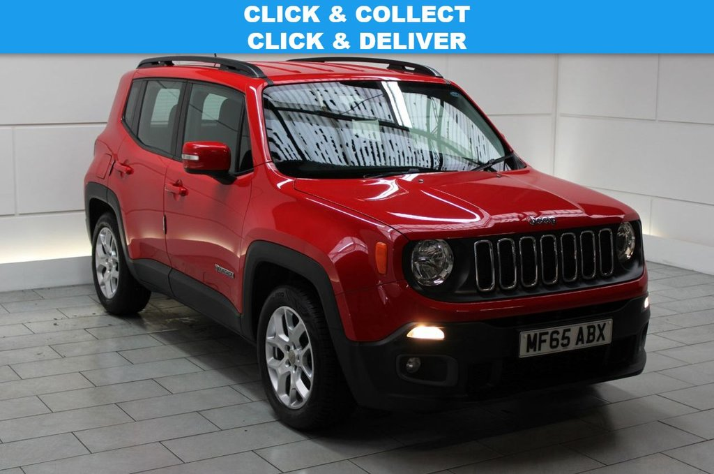 USED 2015 65 JEEP RENEGADE 1.4T MultiAirII Longitude (start/stop)