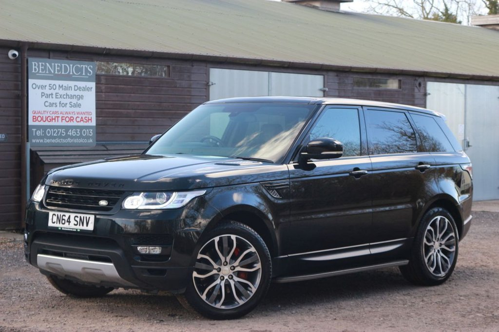 USED 2014 64 LAND ROVER RANGE ROVER SPORT 3.0 SDV6 HSE DYNAMIC 5d 288 BHP