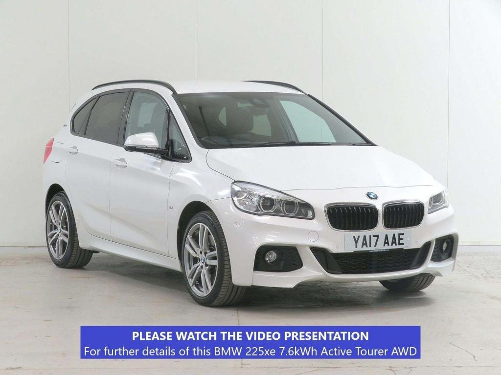 USED 2017 17 BMW 2 SERIES 1.5 225xe 7.6kWh M Sport Active Tourer Auto 4WD (s/s) 5dr £4,355 EXTRA*TECH*COMFORT*NAV+