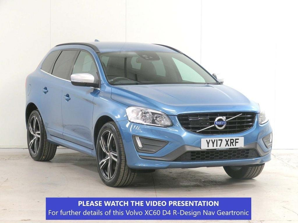 USED 2017 17 VOLVO XC60 2.0 D4 R-Design Nav Geartronic (s/s) 5dr £4575 XTRA*ADAPTIVE-CRUISE*20'