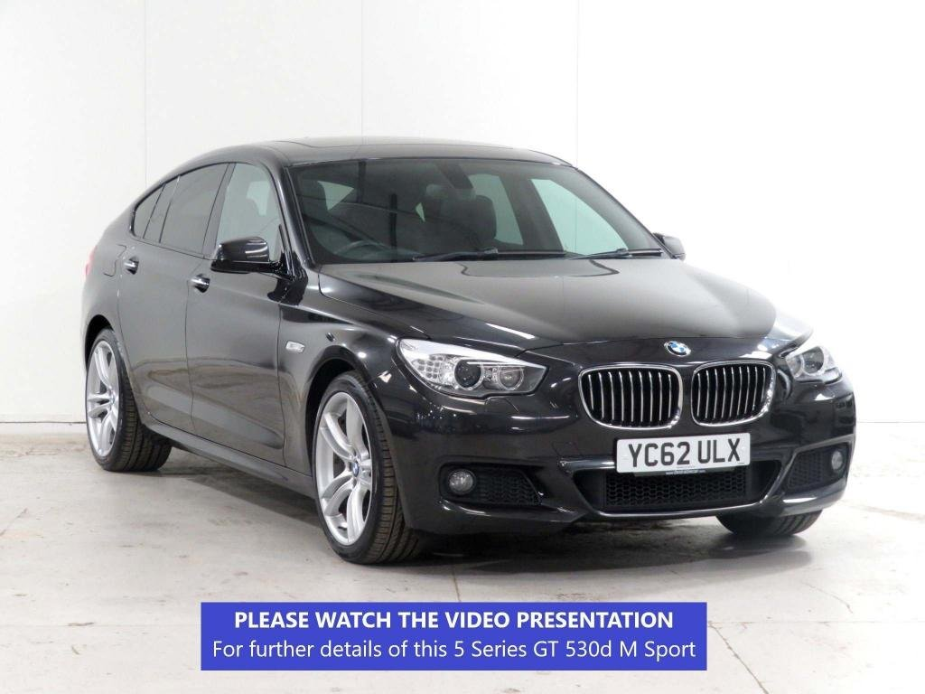 USED 2012 62 BMW 5 SERIES 3.0 530d M Sport GT Auto (s/s) 5dr £2,190 XTRA*ADAPTIVE-LIGHTS*20