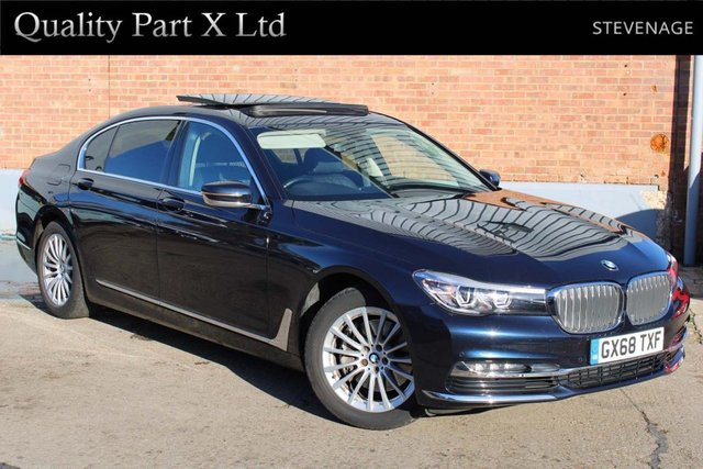 USED 2018 68 BMW 7 SERIES 3.0 730Ld Exclusive Auto (s/s) 4dr SATNAV,SUNROOF,LED,CAMERA