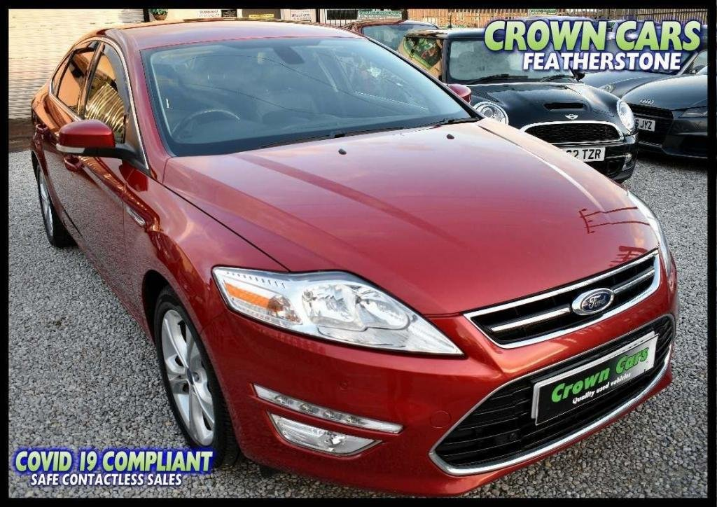 USED 2014 14 FORD MONDEO 2.0 TDCi ECO Titanium X Business 5dr FREE FINANCE ELIGIBILITY CHECK