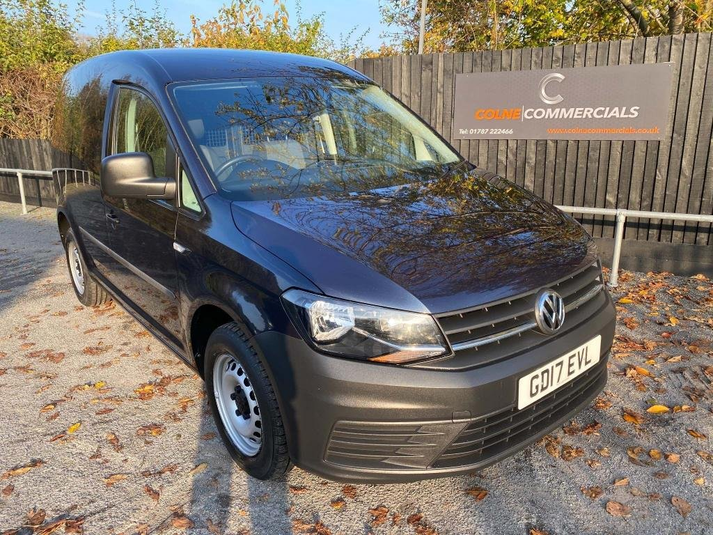 USED 2017 17 VOLKSWAGEN CADDY 2.0 TDI C20 BlueMotion Tech Startline EU6 (s/s) 5dr **EURO 6**ELECTRIC PACK**