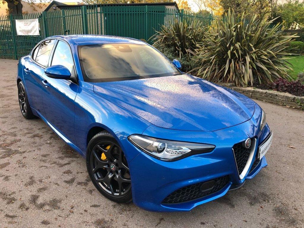 USED 2018 18 ALFA ROMEO GIULIA 2.0L TB VELOCE 4d AUTO 277 BHP FREE DELIVERY DURING  LOCKDOWN