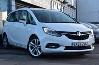 USED 2017 67 VAUXHALL ZAFIRA TOURER 1.4 SRI 5d 138 BHP FINANCE FROM £239 PER MONTH £0 DEPOSIT
