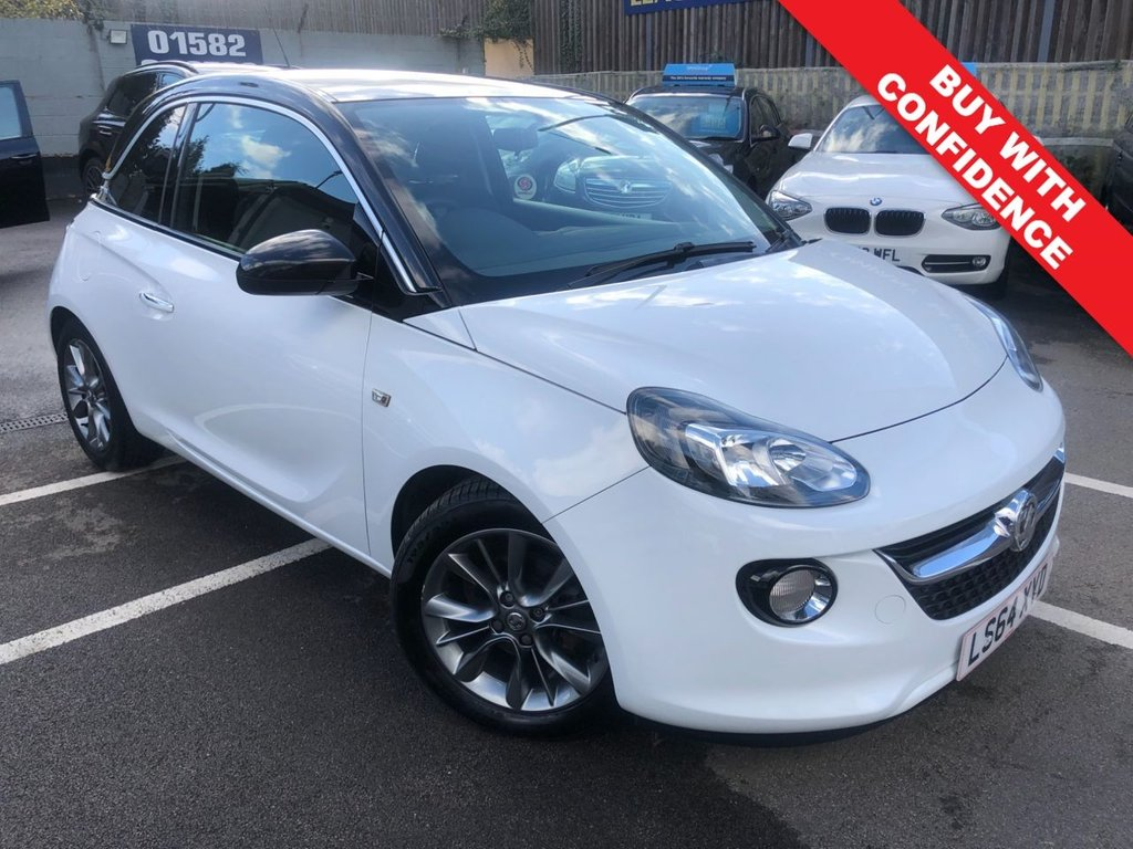 USED 2014 64 VAUXHALL ADAM 1.4 JAM 3d 85 BHP COMES WITH 12 MONTH MOT