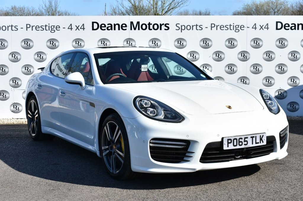 USED 2015 65 PORSCHE PANAMERA 4.8 V8 TURBO PDK AWD INCREDIBLE SPECIFICATION