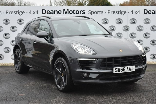2016 66 PORSCHE MACAN 3.0 D S PDK 5d 258 BHP MASSIVE SPECIFICATION