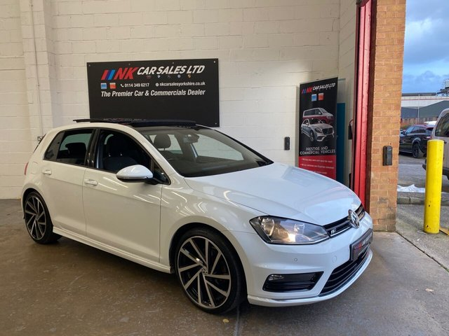 2016 16 VOLKSWAGEN GOLF 2.0 R LINE EDITION TDI BMT DSG 5d 148 BHP  DSG PAN ROOF  SOLD TO A CLIENT IN LONDON