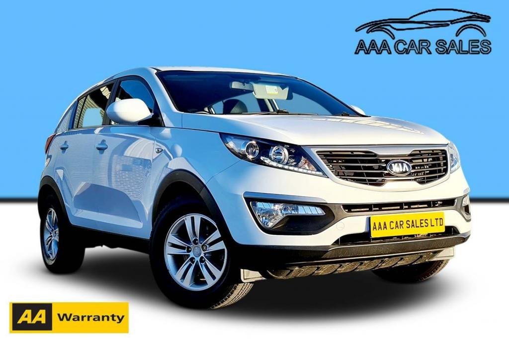 USED 2013 13 KIA SPORTAGE 1.7 CRDi 1 2WD 5dr 12 MONTH MOT,LOW MILES
