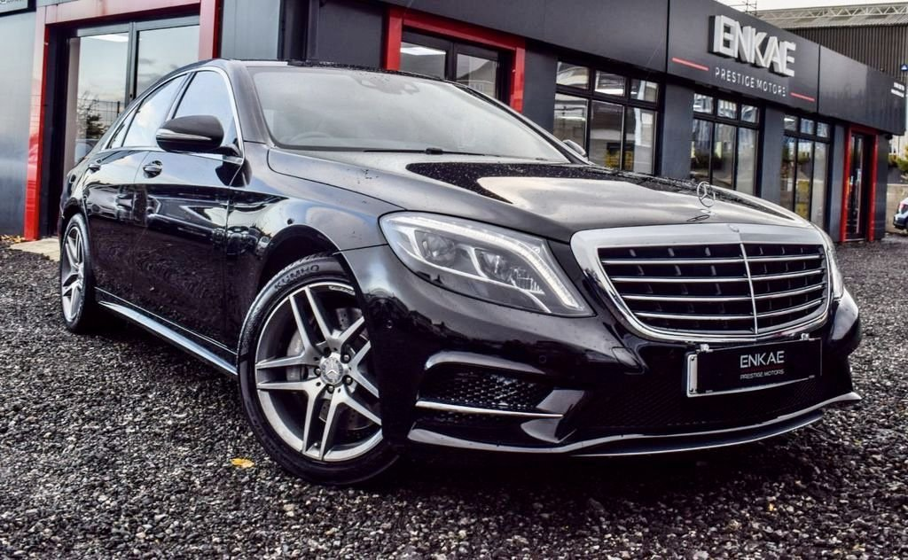 USED 2016 66 MERCEDES-BENZ S-CLASS 3.0 S 350 D AMG LINE 4d 255 BHP