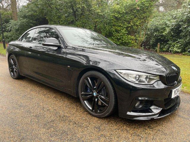 USED 2014 14 BMW 4 SERIES 3.0 435I M SPORT 2d 302 BHP