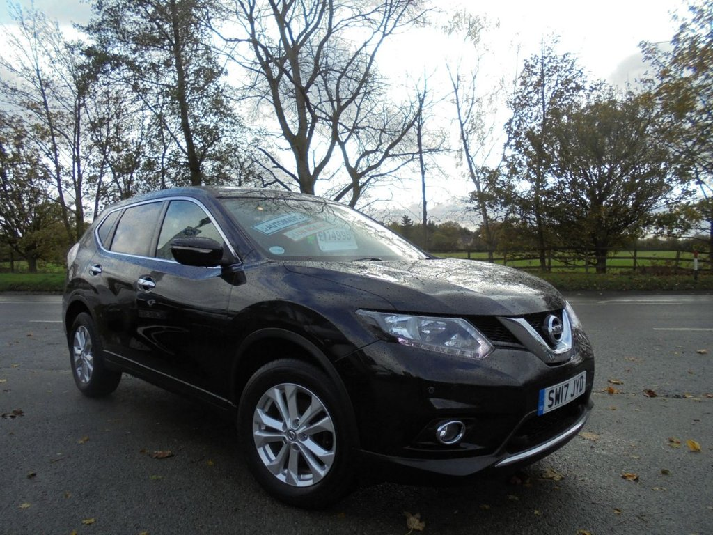 USED 2017 17 NISSAN X-TRAIL 1.6 DCI ACENTA XTRONIC 5d 130 BHP