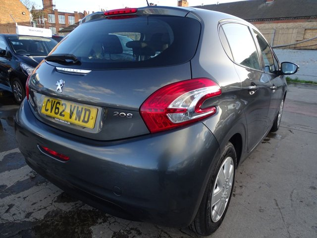 USED 2012 62 PEUGEOT 208 1.4 ACCESS PLUS HDI 5d 68 BHP £0 TAX