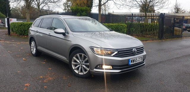 2015 65 VOLKSWAGEN PASSAT 1.6 SE BUSINESS TDI BLUEMOTION TECH DSG 5d 119 BHP