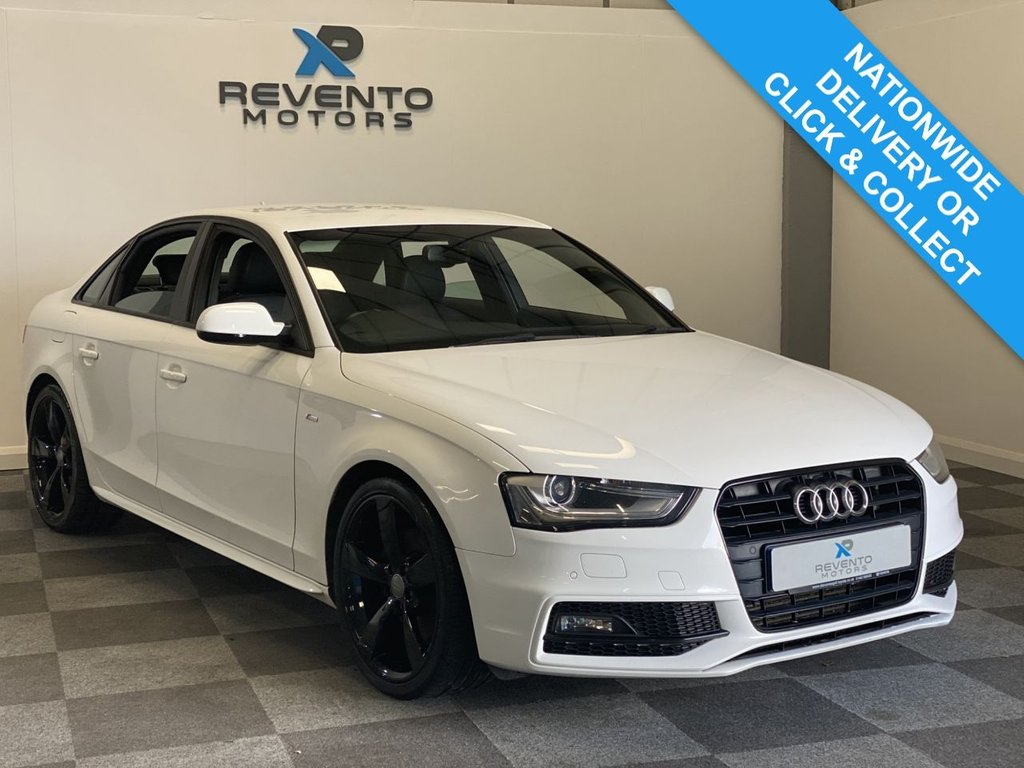USED 2013 13 AUDI A4 2.0 TDI BLACK EDITION 4d 141 BHP | CLICK & COLLECT | NATIONWIDE DELIVERY AVAILABLE