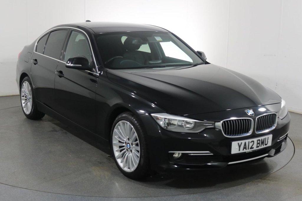USED 2012 12 BMW 3 SERIES 2.0 320D LUXURY 4d 184 BHP BLUETOOTH I LEATHER I £30 TAX