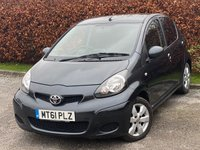 USED 2011 61 TOYOTA AYGO 1.0 VVT-I GO 5d 67 BHP * 12 MONTHS AA BREAKDOWN COVER * IDEAL FIRST CAR *