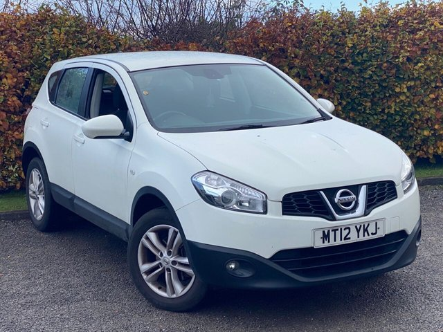 USED 2012 12 NISSAN QASHQAI 1.6 ACENTA 5d 117 BHP BLUETOOTH CONNECTIVITY
