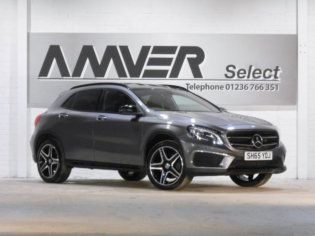 USED 2015 65 MERCEDES-BENZ GLA-CLASS 2.1 GLA220 CDI 4MATIC AMG LINE PREMIUM PLUS 5d 168 BHP