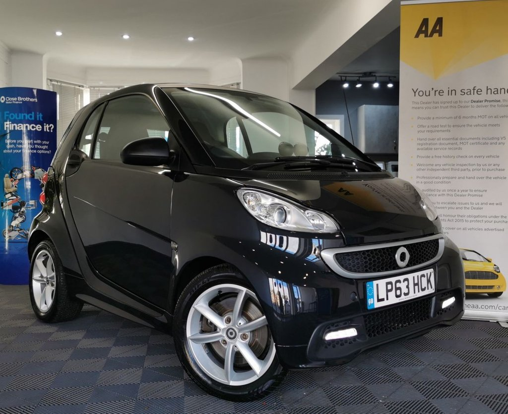 USED 2014 63 SMART FORTWO 1.0 EDITION 21 MHD 2d 71 BHP