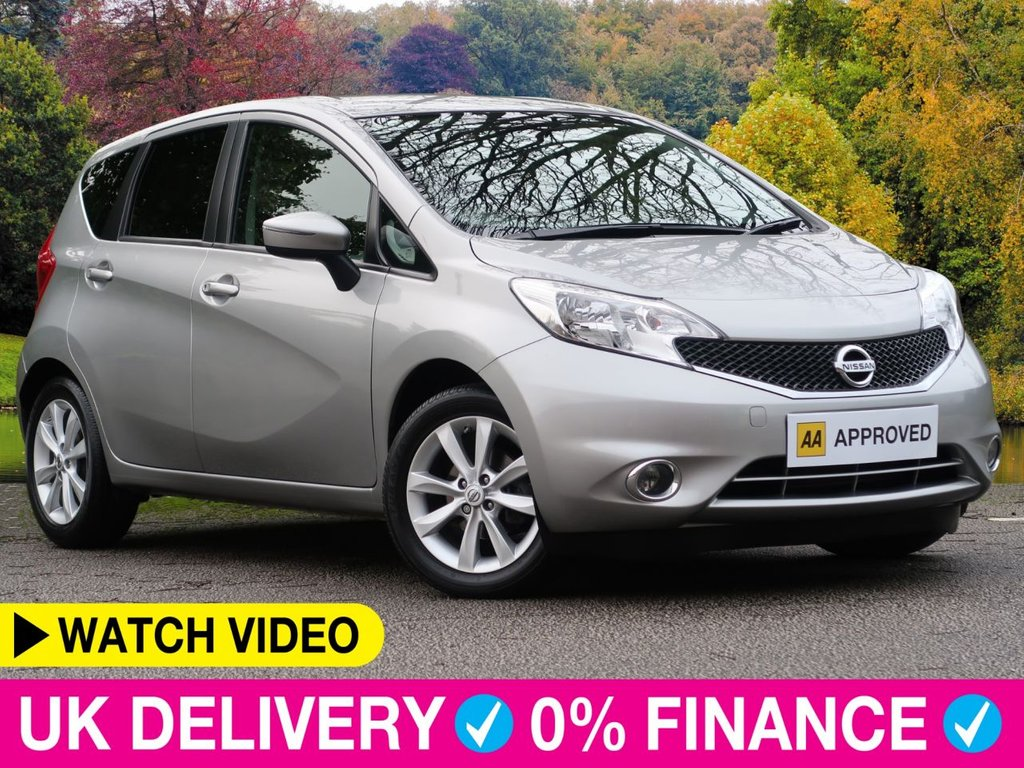 """USED 2017 66 NISSAN NOTE 1.2 DIG-S Acenta Premium Auto 5dr 1 Owner 16"""" Alloys Climate Cruise"""