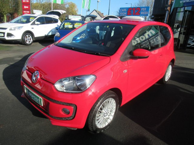 USED 2014 14 VOLKSWAGEN UP 1.0 HIGH UP 3d 74 BHP **CLICK AND COLLECT ON YOUR NEXT CAR**