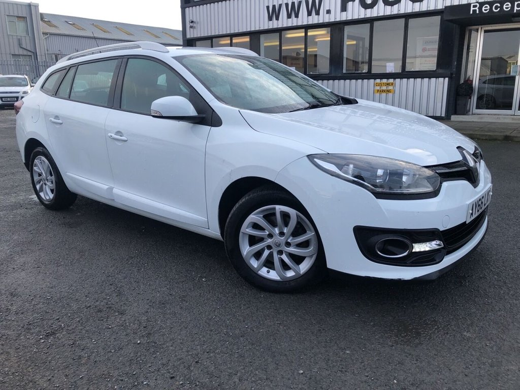 USED 2016 66 RENAULT MEGANE 1.5 DYNAMIQUE NAV DCI 5d 110 BHP £111 a month, T&Cs apply.