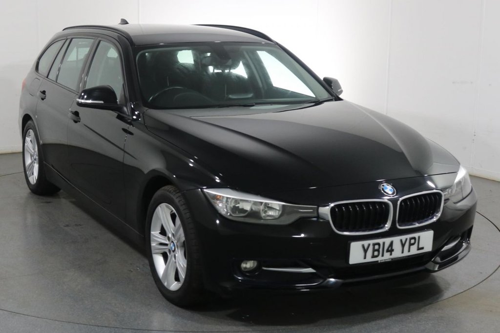 USED 2014 14 BMW 3 SERIES 2.0 320D SPORT TOURING 5d 181 BHP 5 Stamp SERVICE HISTORY