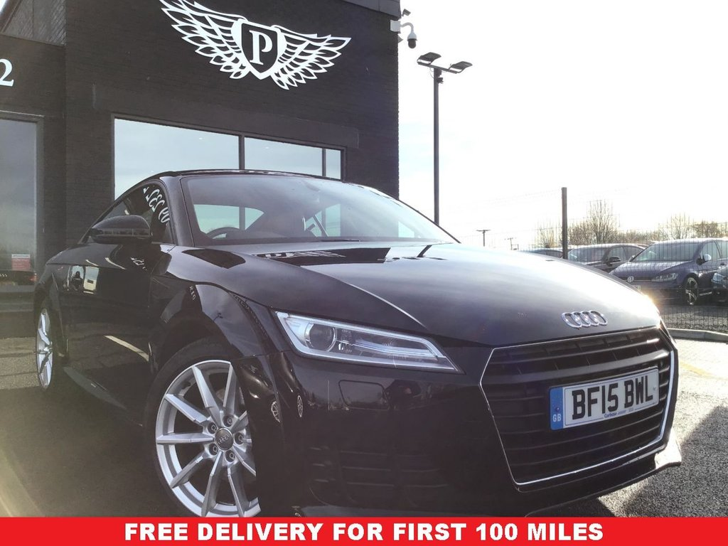 USED 2015 15 AUDI TT 2.0 TDI ULTRA SPORT 2d 182 BHP WARRANTY,  MOT AND SERVICE INC