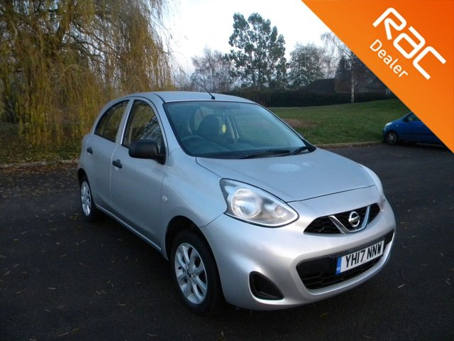USED 2017 17 NISSAN MICRA 1.2 VIBE 5d 79 BHP BY APPOINTMENT ONLY - Only £30 A Year To Tax! Bluetooth, Air Con