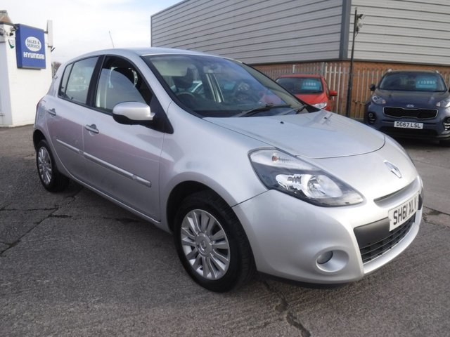 USED 2011 61 RENAULT CLIO 1.1 I-MUSIC 5d 75 BHP 2 KEYS*BLUETOOTH*AIRCON*SERVICE HISTORY*ELECTRIC MIRROR
