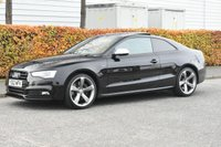USED 2012 62 AUDI A5 S5 3.0 TFSI Black Edition S Tronic quattro 3dr