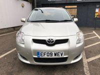 USED 2009 09 TOYOTA AURIS 1.6 TR VALVEMATIC MM 5d 131 BHP ** OPEN FOR CLICK & COLLECT **