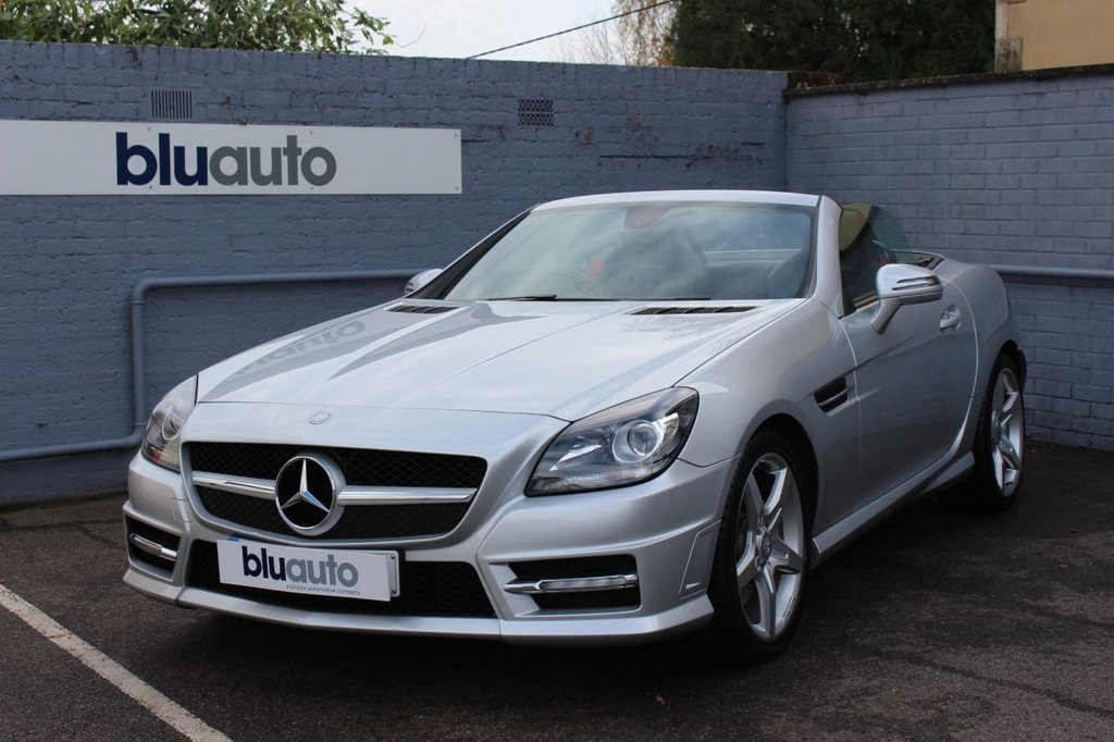USED 2012 12 MERCEDES-BENZ SLK 2.1 SLK250 CDI BLUEEFFICIENCY AMG SPORT 2d 204 BHP 1 Private Owner + Merc, Full Mercedes History, Satellite Navigation, Heated Leather Seats. Air Scarf