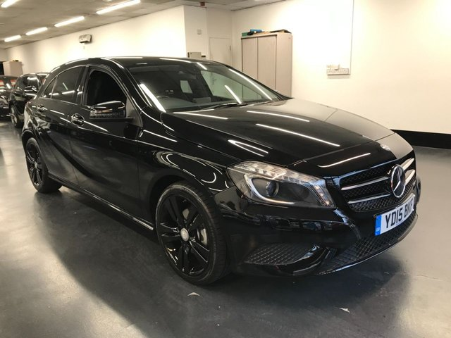USED 2015 15 MERCEDES-BENZ A-CLASS 2.1 A200 CDI SPORT 5d 136 BHP 1 PREVIOUS OWNER FROM NEW, HALF LEATHER SPORT SEATS, BLUETOOTH PHONE AND AUDIO.