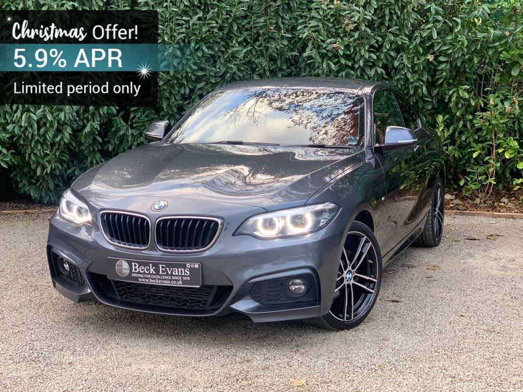 USED 2017 67 BMW 2 SERIES 2.0 218D M SPORT 2d 148 BHP